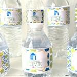 Guest water bottle labels