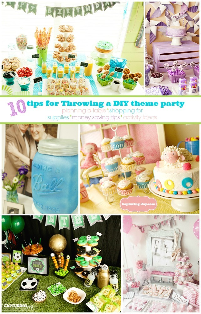 Thrifty DIY party ideas