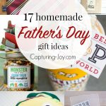 17 homemade Father's Day gift ideas Dad will love! Capturing-Joy.com