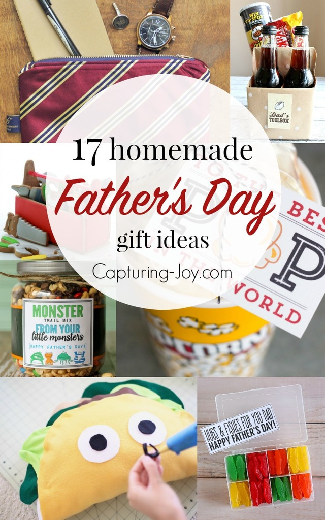 17 Homemade Father's Day Gifts - Capturing Joy with ...