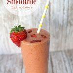 4 ingredient Goji Berry Smoothie recipe
