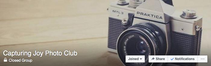Capturing Joy Photo Club with Kristen Duke