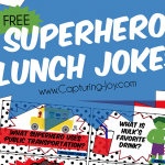 Superhero Lunch Jokes