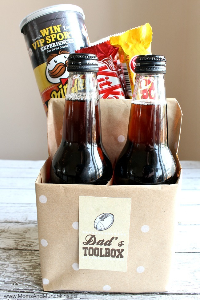 This Is A Cute Toolbox Gift Idea For Dad