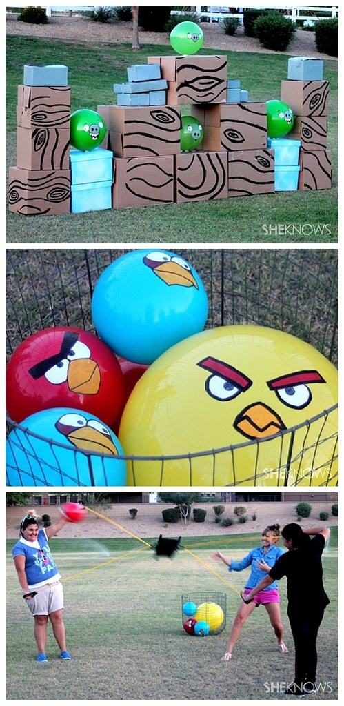 DIY-Projects-Outdoor-Games-Life-Sized-Angry-Birds-Game-Knock-down-some-pigs-So-fun-for-backyard-barbecues-and-parties-DIY-project-tutorial-via-sheknows