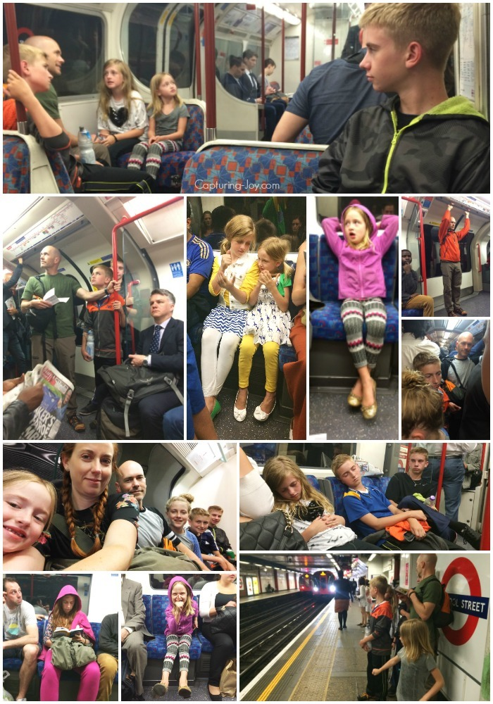 Tips for riding on the subway in London