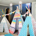 Tribal Bohemian Chic fabric Teepee