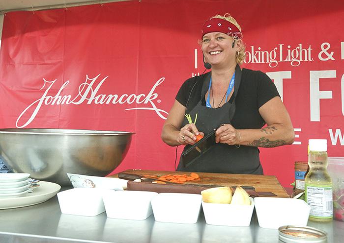 Austin Chef Sonya Cote Cooking Demo