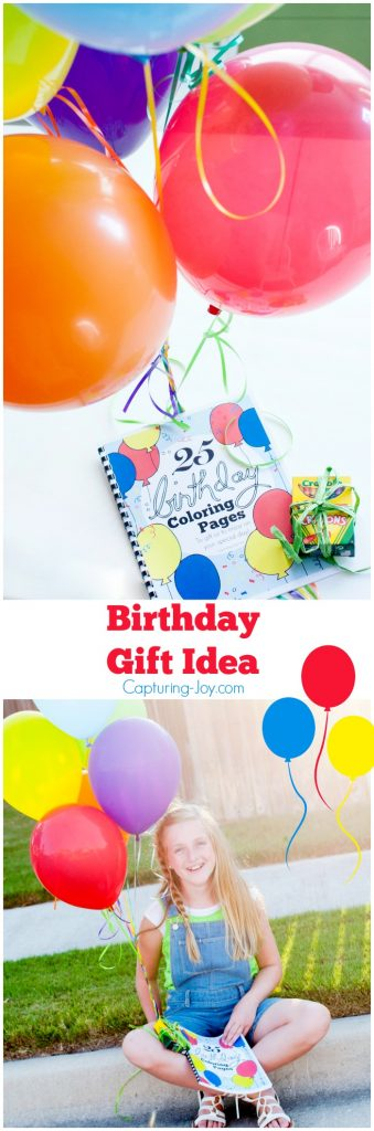 Birthday Gift Idea 25 Birthday Coloring Pages