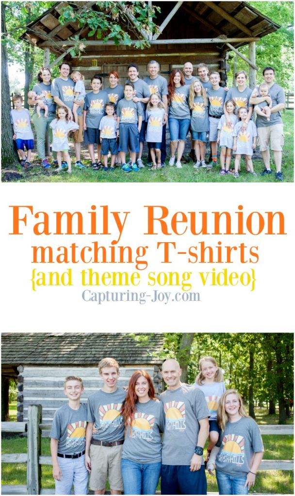 Family Reunion Matching T-shits and theme song video