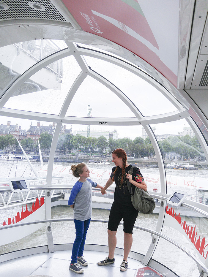 Inside the London Eye