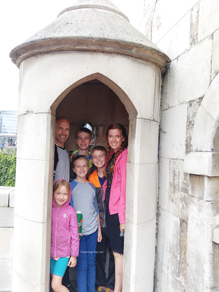 Tower of London tour with kids