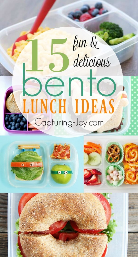 15 fun and delicious bento lunch ideas