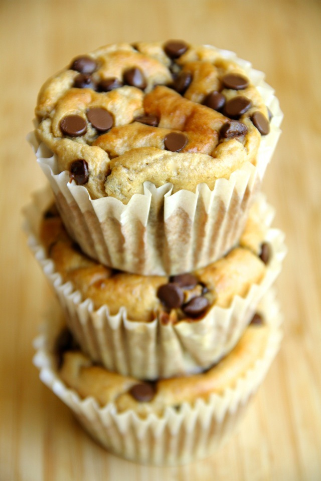 Banana Oat Greek Yogurt muffins!