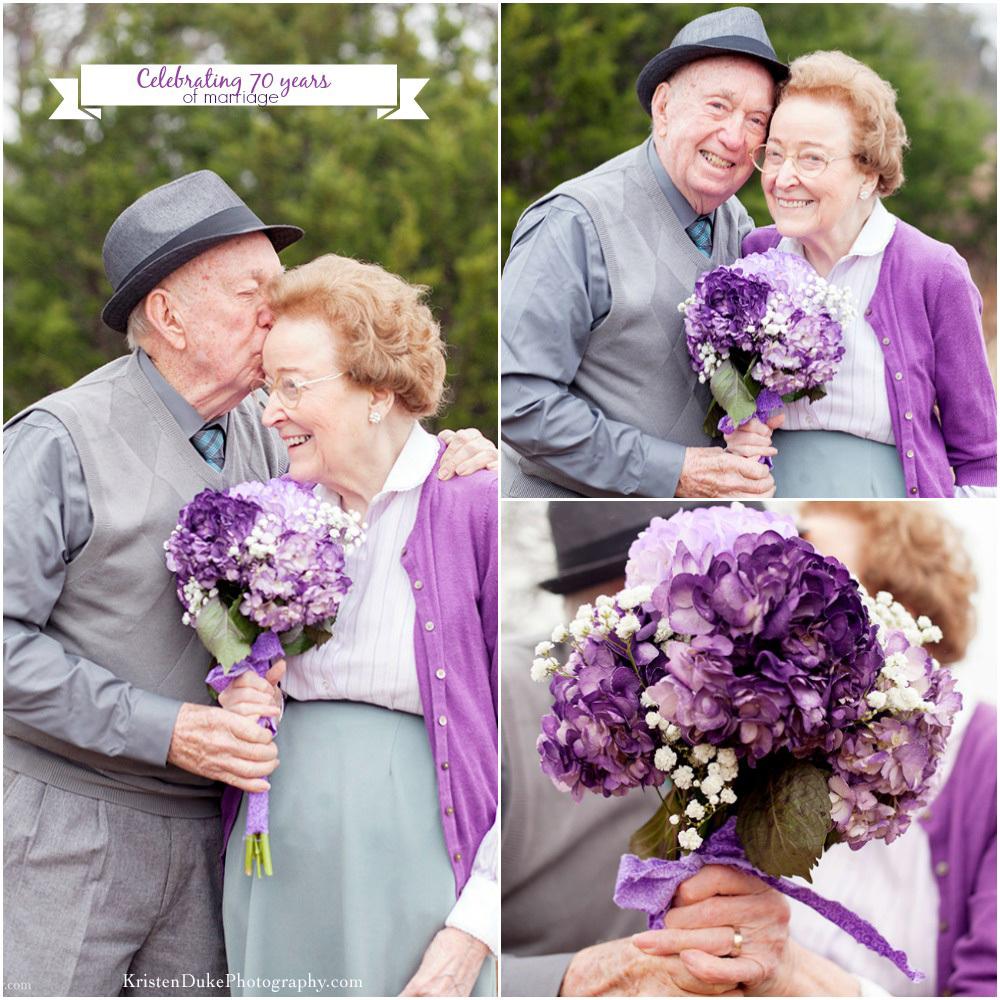 Couple celebrates 70 years of marriage