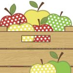 Apple Teacher gift idea print and coloring page