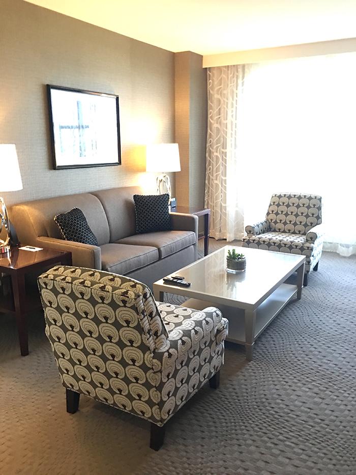 Austin Texas Luxury Hotel Room