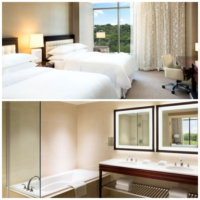 Where to stay in Austin Hotel room at Sheraton Georgetown Texas