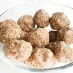 Medjool Date Protein Bites, great boost of energy after a workout, or to snack during the day