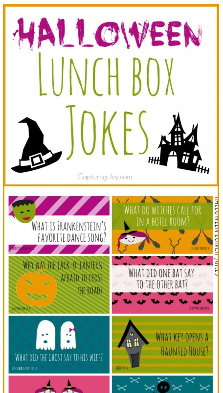 halloween lunch jokes