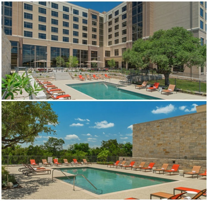 Sheraton Georgetown Texas heated pool