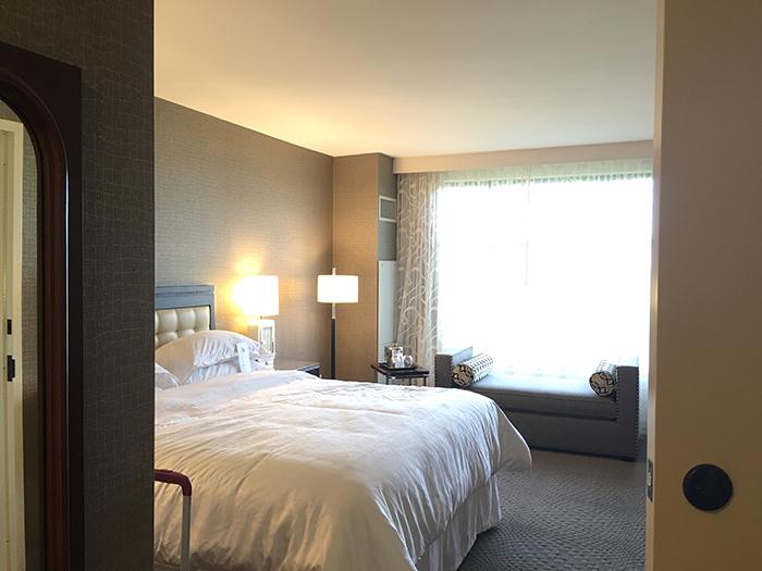 Sheraton Georgetown Texas hotel room