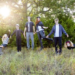 Family Levitating photograph