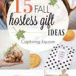 15 Fall hostess gift ideas you can bring to Thanksgiving dinner!