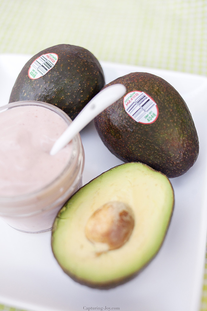 Smoothie with Avocados from Mexico