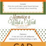 Memorize words with your kids