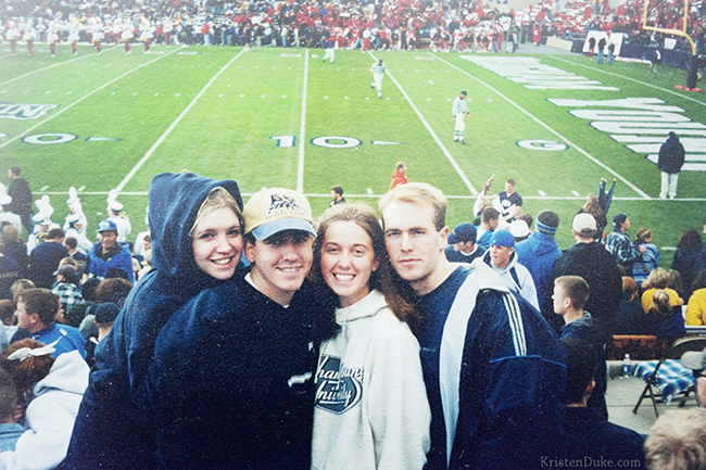 BYU football game love story
