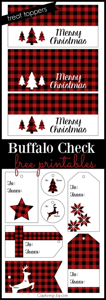 buffalo-check-plaid-free-printables-for-christmas-treat-toppers-and-gift-tags