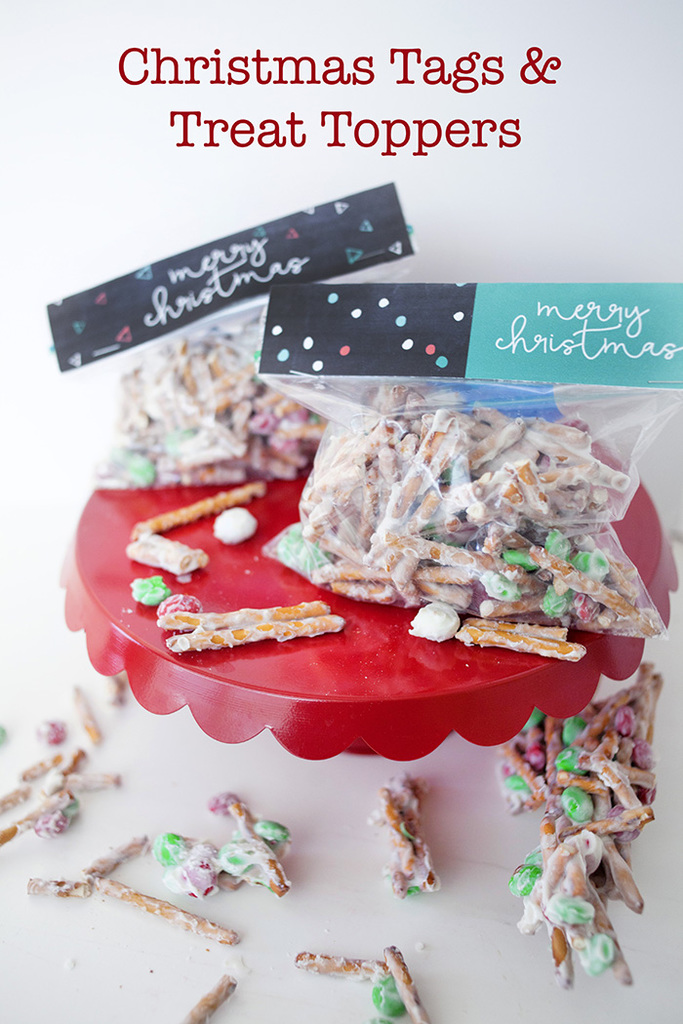 Christmas tags and treat toppers