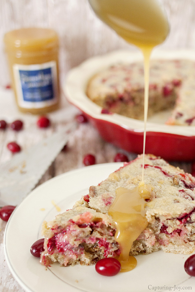 cranberry nut cak