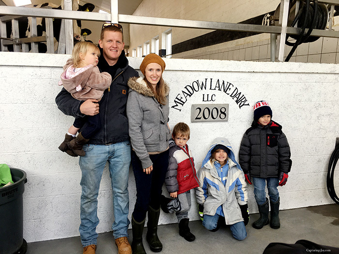 Meadow Lane Dairy tour