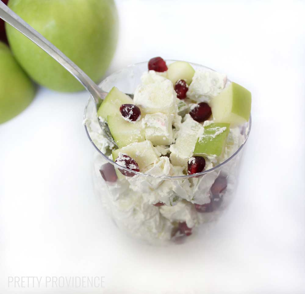 Pomegranate Apple Salad