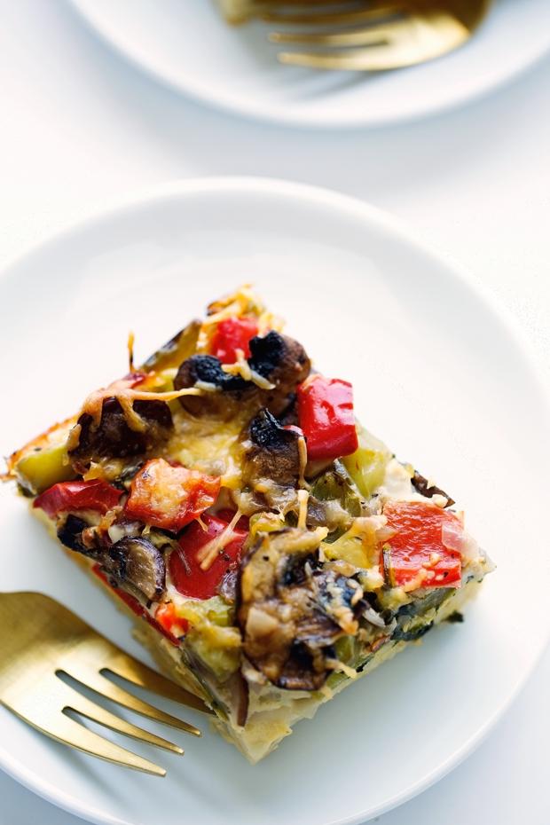 Healthy breakfast recipes with veggies