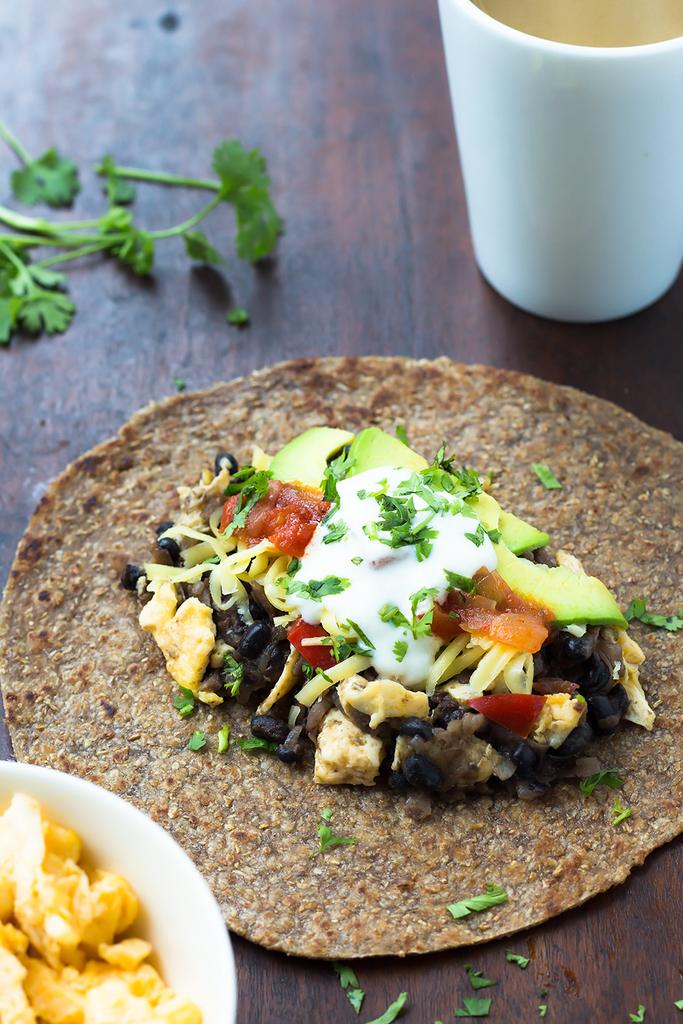 black-bean-breakfast-burrito