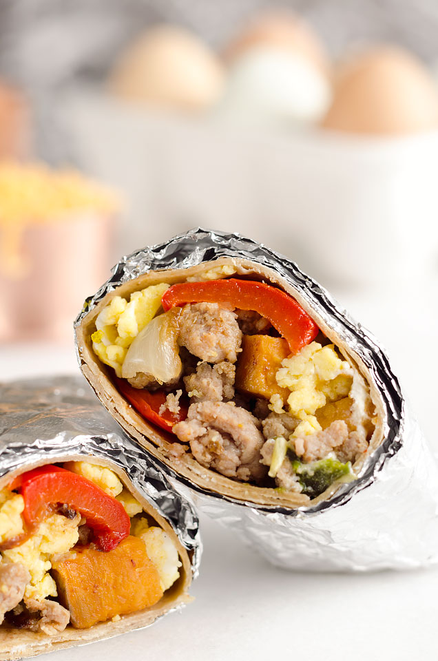 light-spicy-turkey-sausage-breakfast-burritos-5-copy