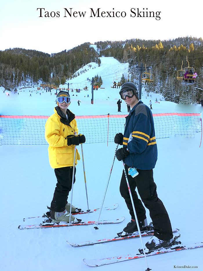 Taos New Mexico Ski Resort a great place to family vacation.