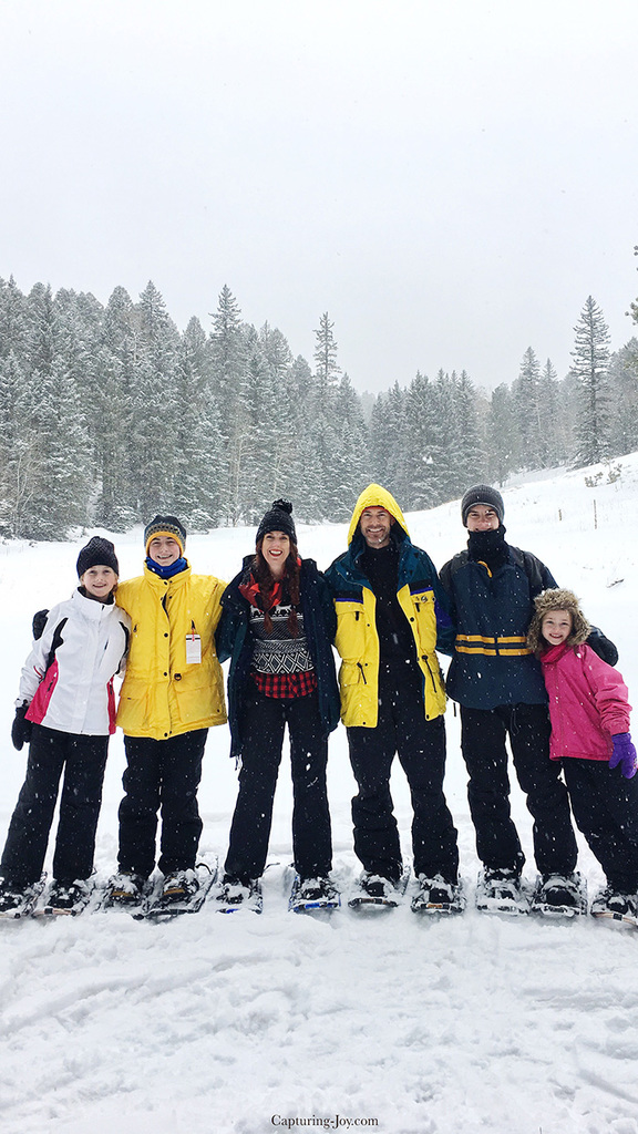Snow show in Taos New Mexico