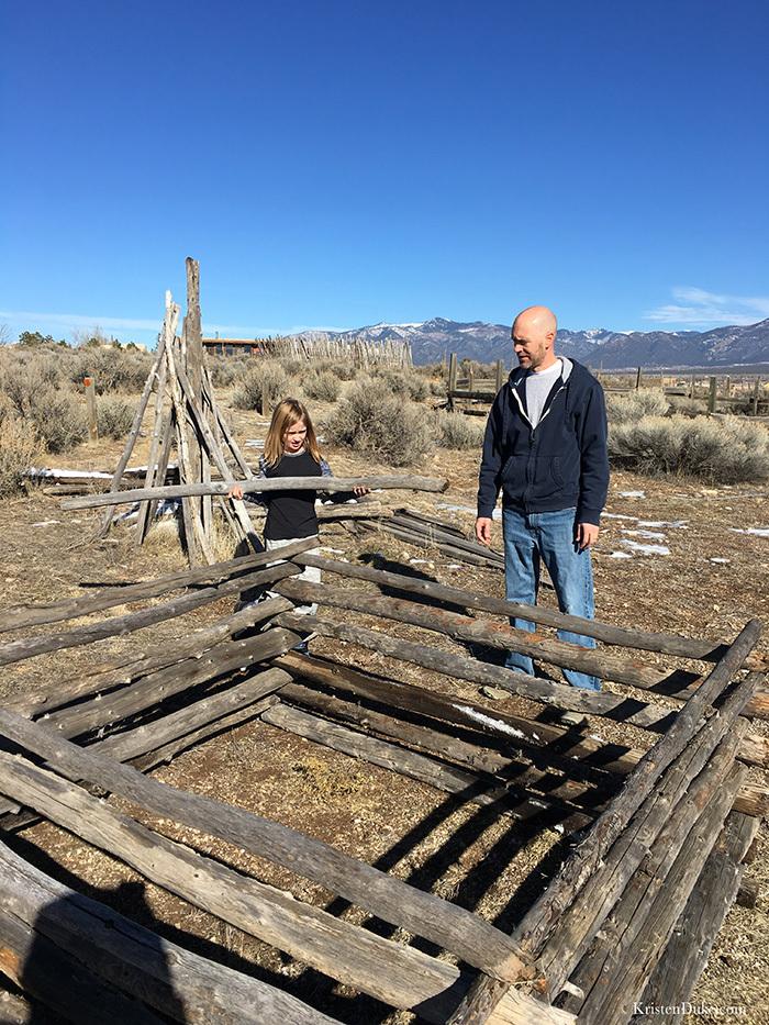 building log cabin