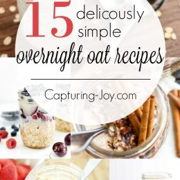 15 Deliciously Simple Overnight Oats Recipes