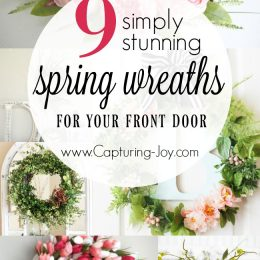 9 Simply Stunning Spring Wreaths