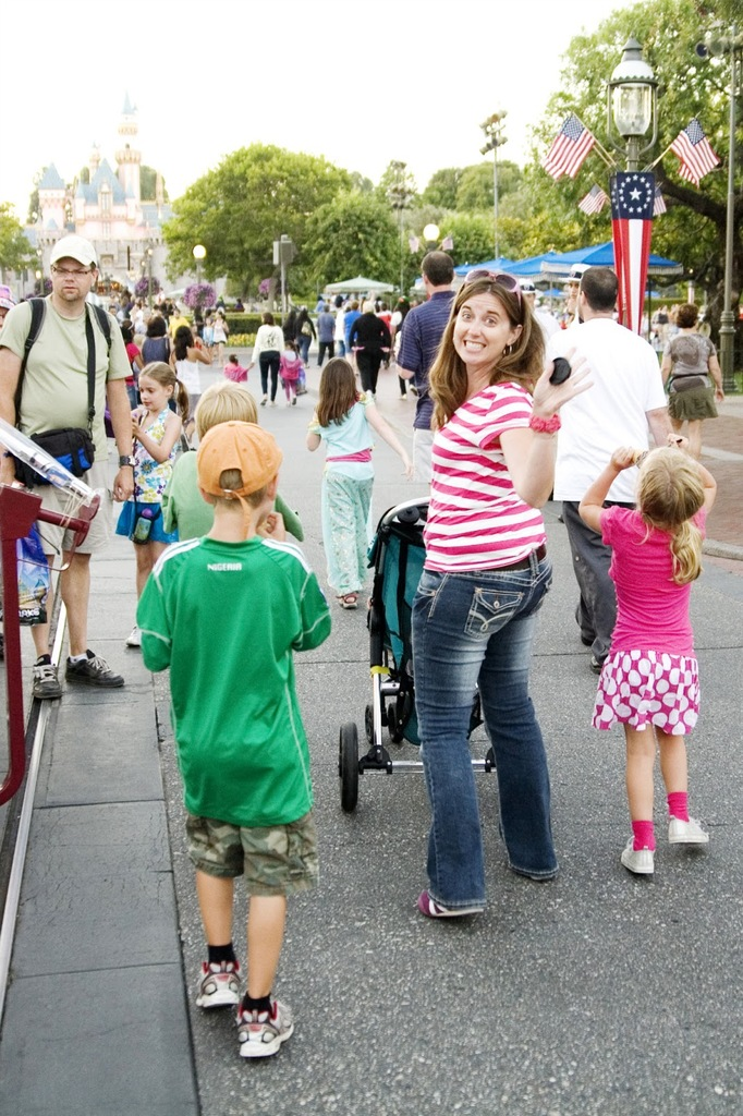 Disneyland family trip