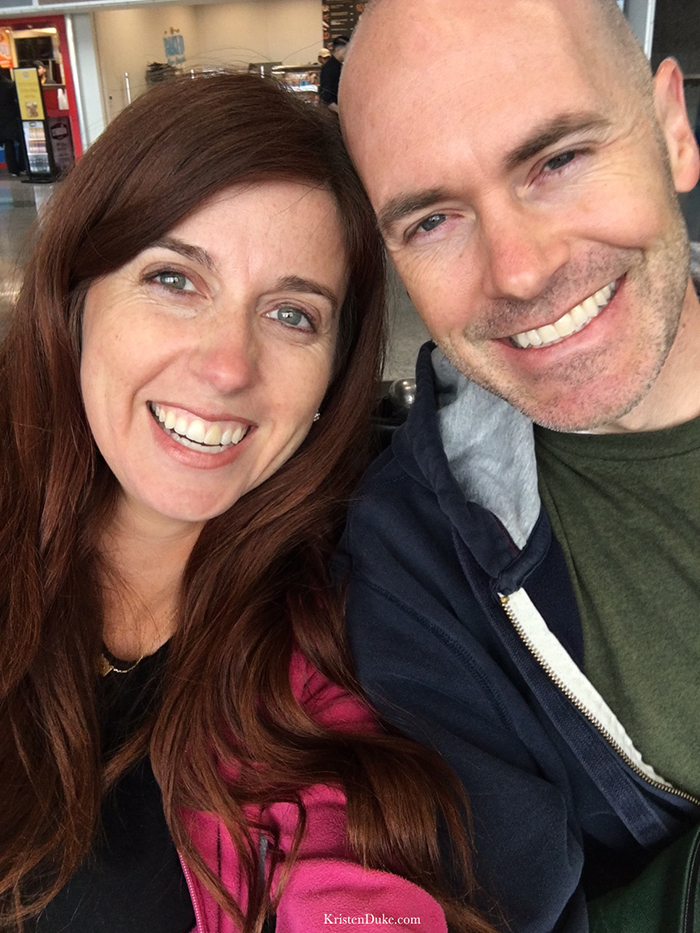 husband and wife travel