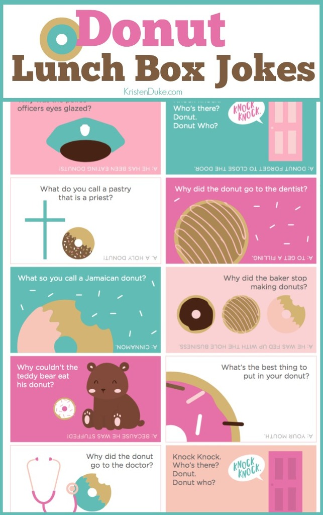 Donut Lunch Box Jokes