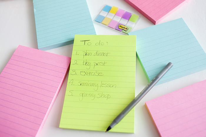 w to get organized