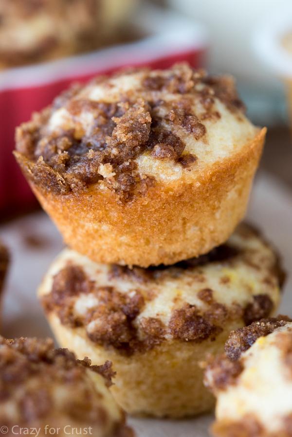 Crumb Cake Bites