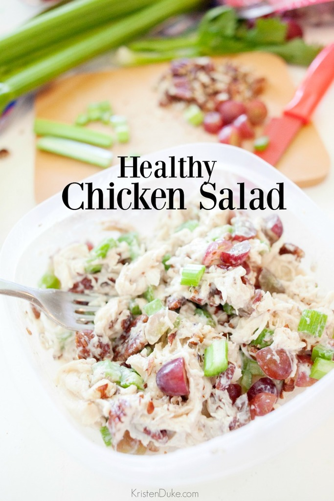 Healthy Chicken Salad Recipe Capturing Joy With Kristen Duke
